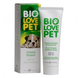 Bio fényvédő krém kutyák részére