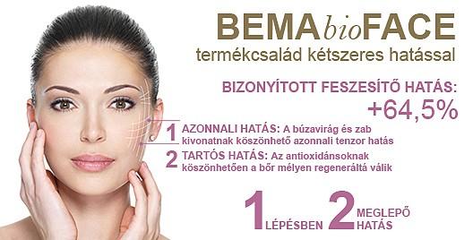 Bema Bio Face termékcsalád kézszeres feszesítő hatással