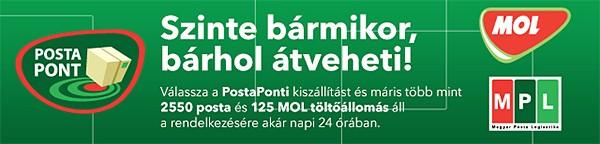Csomagátvétel PostaPonton