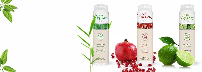 Bema bio Passion testápoló termékek.