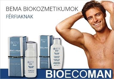 Bema BioEcoMan biokozmetikumok férfiak számára.