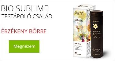 Bio Sublime testápoló termékcsalád